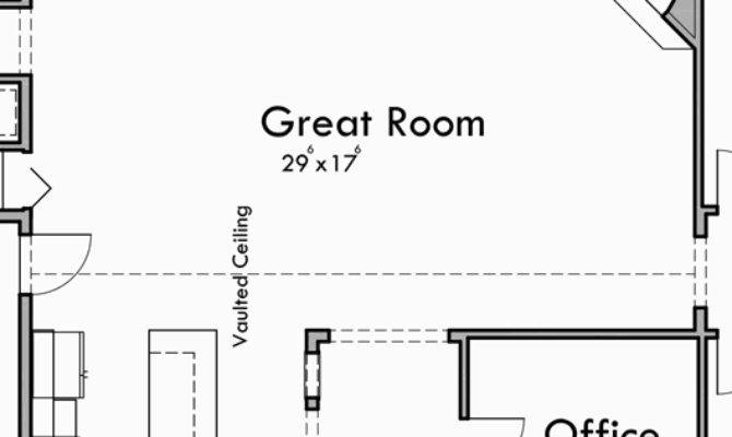 Portland Oregon House Plans One Story Great Room