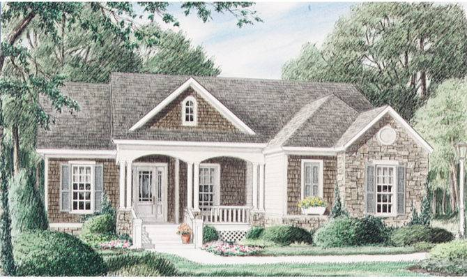 Portsfield Craftsman Ranch Home Plan House