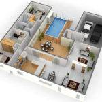 Position Home Design Plans Bedroom House