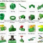 Ppr Fittings Types Plastic Water Pipe Buy