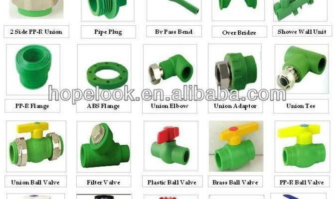 Ppr Fittings Types Plastic Water Pipe Buy
