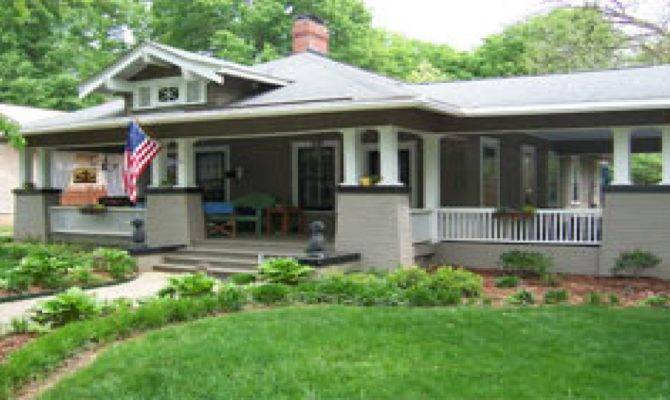 Prairie Bungalow Style Homes Cottage