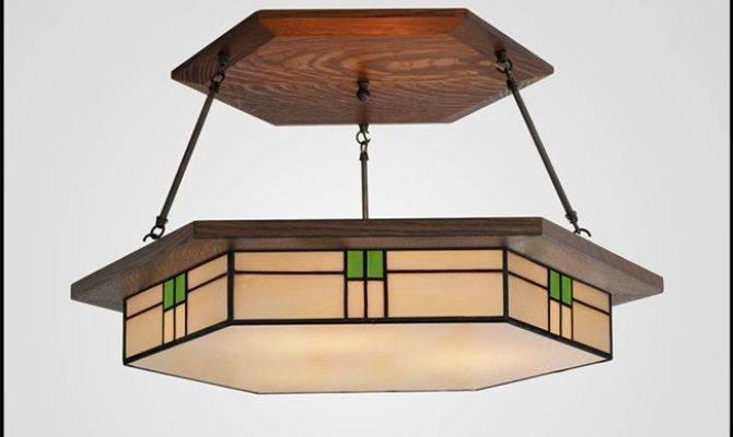 Prairie Craftsman Chandelier Colonial Kitchen Pinterest