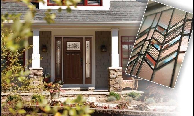 Prairie Craftsman Style Doors