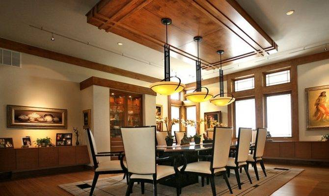 Prairie Style Dining Room Interior Design Decor Pinterest