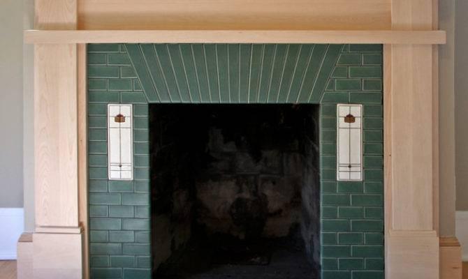 Prairie Style Fireplace Craftsman Minneapolis