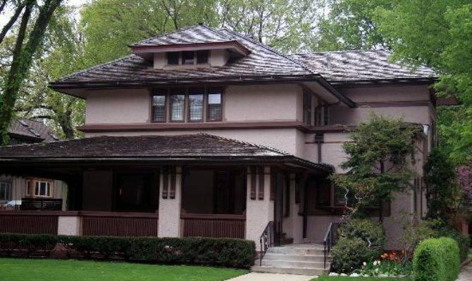 Prairie Style House Oak Park Illinois