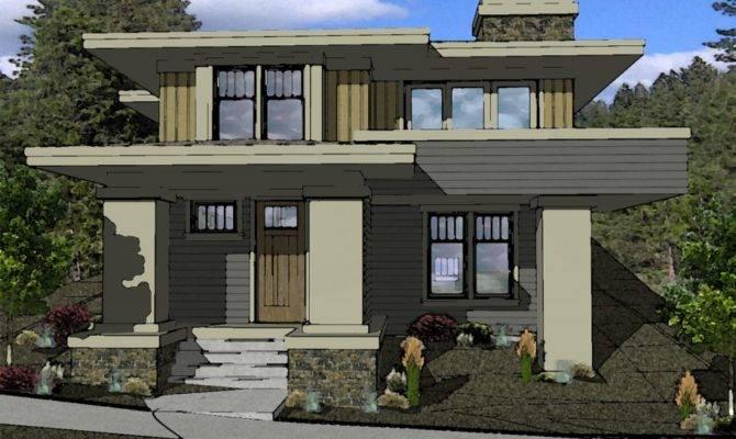 Prairie Style House Plan Northwest Crossing Boards Plans