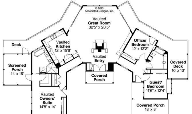 Prairie Style House Plans Edgewater Associated
