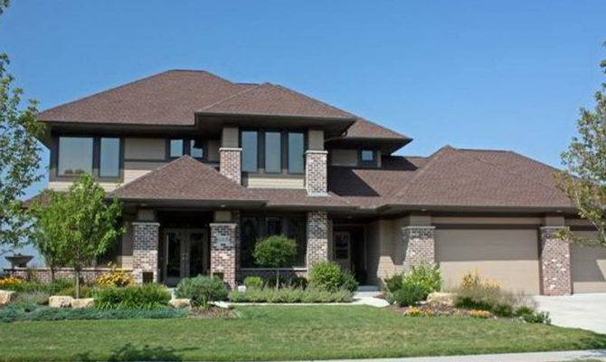 Prairie Style House Plans Great Halls
