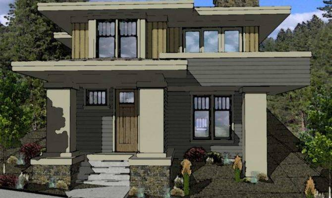Prairie Style House Plans Raw Design