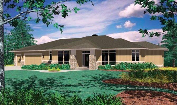 Prairie Style Interior Design House Plans