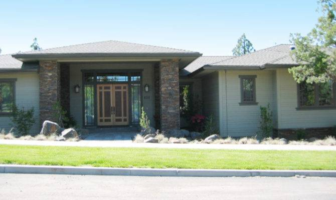 Prairie Style Ranch Home Plan Floor Master