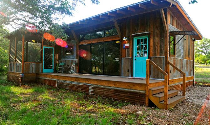 Prefab Conjures Visions Particle Board Aluminum Siding