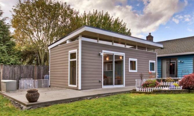 Prefab Laneway Houses Modern Shed Westcoast
