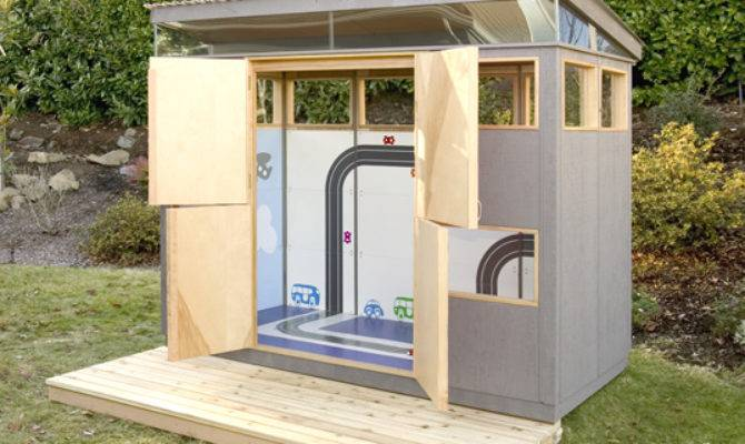 Prefab Shed Should Pick Metal Wood Your