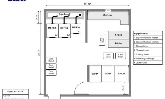 Premises Laundry Room Design Layout Services House Plans 21560
