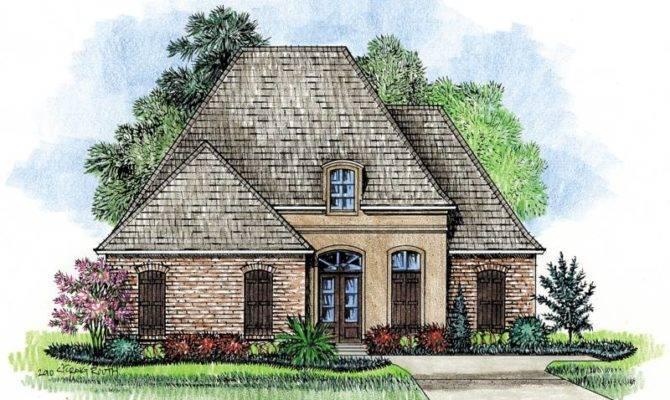 Prestidge Country French Home Plans Louisiana House