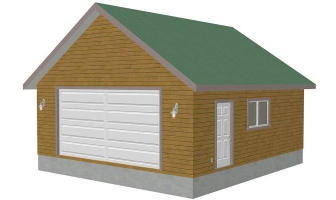 Preston Detached Garage Plans