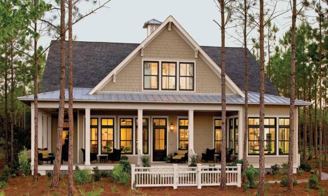Pretty House Plans Porches Tucker Bayou Plan