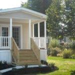 Pretty Slide Front Porch Design Mobile Homes