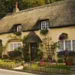 Pretty Thatched English Cottage Exterior Homes Pinterest