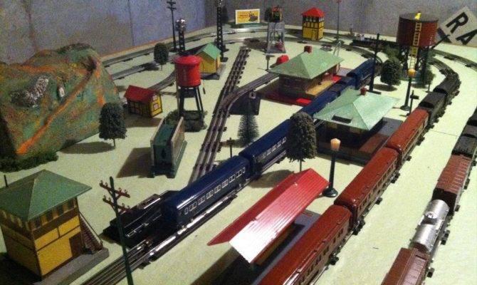 Prewar American Flyer Layout Gauge Railroading Line
