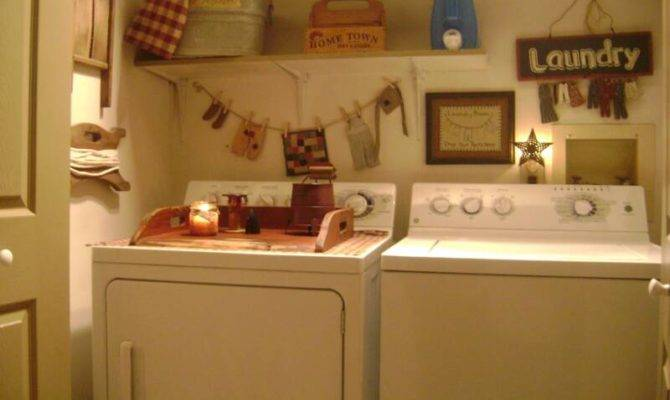 Primitive Place Colonial Inspired Laundry Rooms
