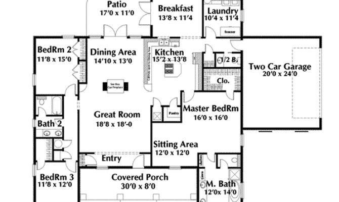 Priscilla Park Neoclassical Plan House Plans