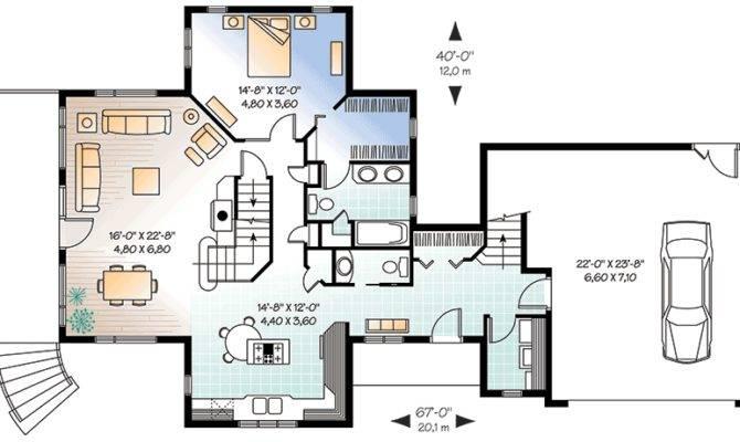 Private Guest Suite Cottage Design
