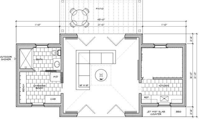 Progress Pool House Amy Hirschamy Hirsch