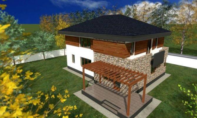 Proiecte Case Din Piatra Lemn Wood Stone House Plans