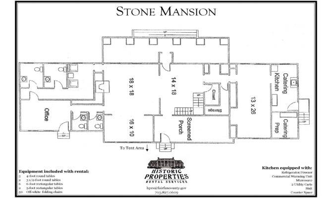 Properties Rental Services Stone Mansion Fairfax County Virginia