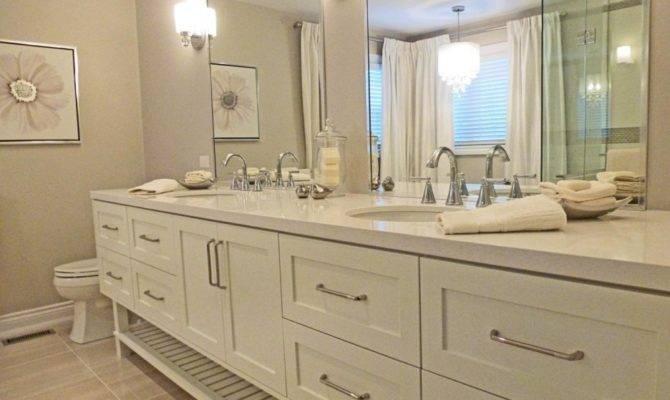 Property Design Narrow Depth Bathroom Vanity