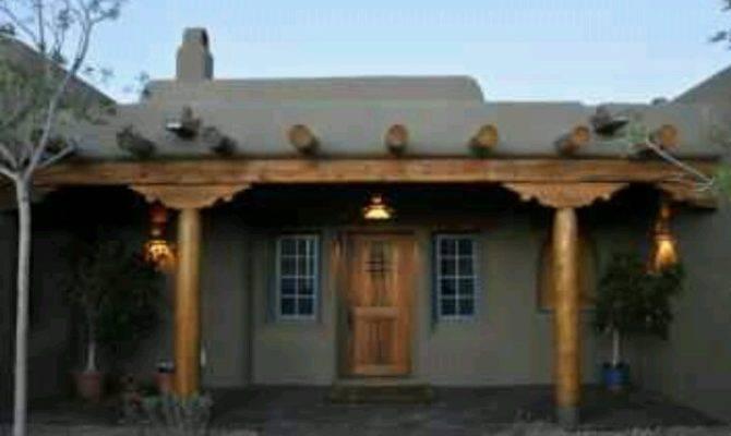 Pueblo Style Home Love Homes Exterior Pinterest