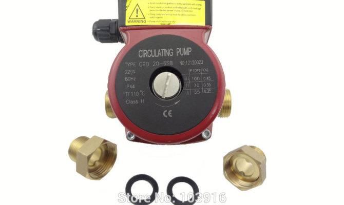 Pump Speed Solar Water Heater Hot Heating System