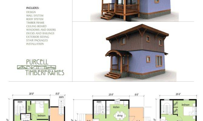 Purcell Timber Frames Eco House