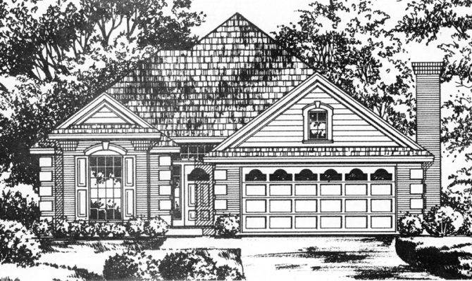 Putnam Lake Southern Ranch Home Plan House Plans More