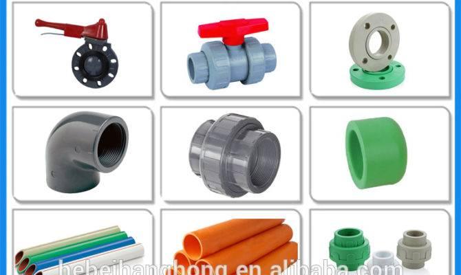 Pvc Pipe Large Diameter Plastic Types Water
