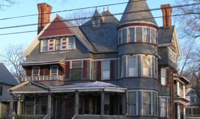 Queen Anne Style House Affair