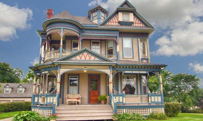 Queen Anne Victorian Houses House Style Design