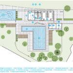 Queen Elizabeth Outdoor Pool Group Architecture