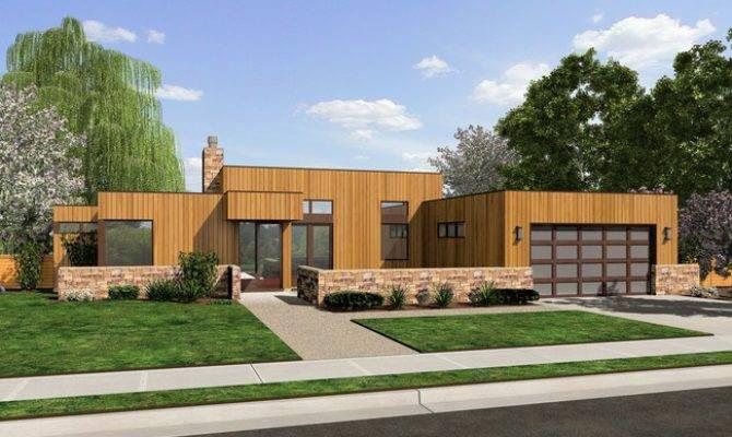 Queensbury Contemporary Ranch House Plan