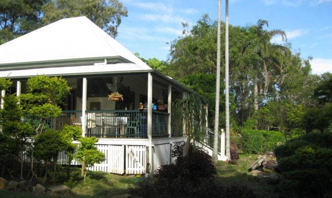 Queenslander Home Cool Wraparound Verandah Sit Relax