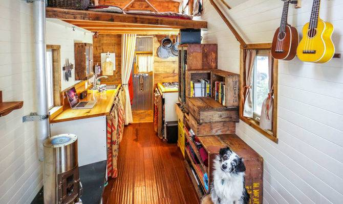 Quit Our Jobs Built Tiny House Wheels Hit