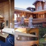 Railings Honka Log Homes Usa