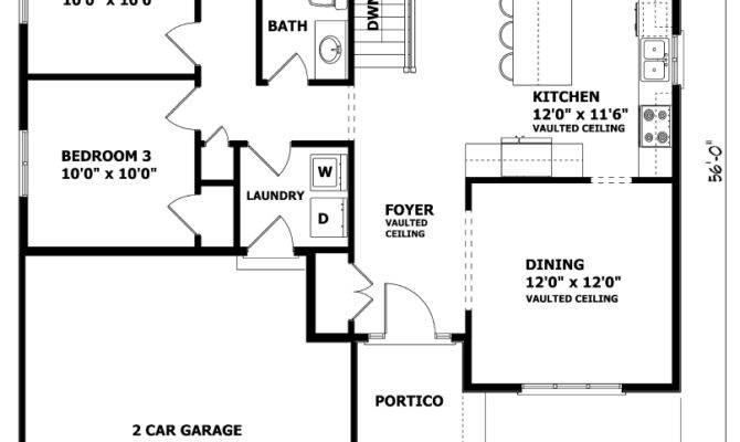 Raised Bungalow Floor Plans Canada Thefloors