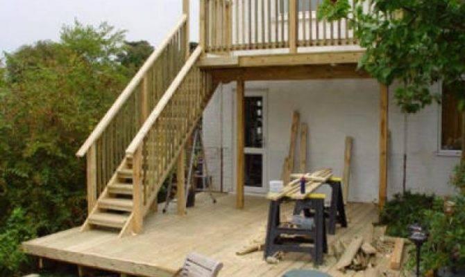 Raised Decking Design Ideas New Interior Exterior