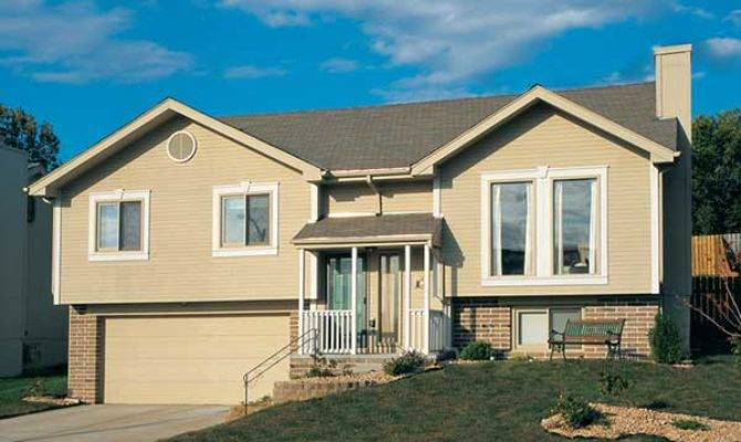 Raised Ranch Homes House Plans More