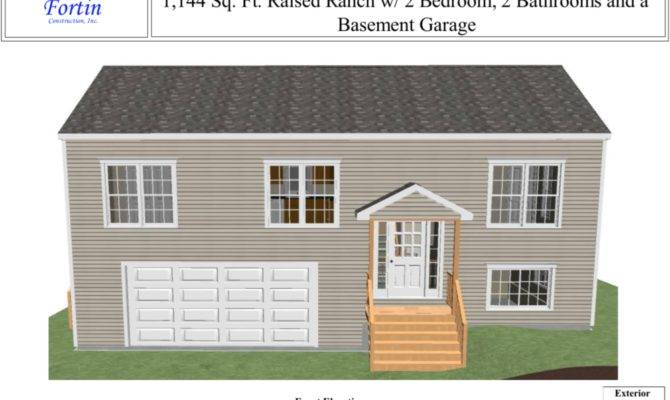 Raised Ranch House Plans Fortin Construction Custom